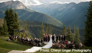 Outdoor weddings receptions in colorado mountain for Best colorado wedding venues